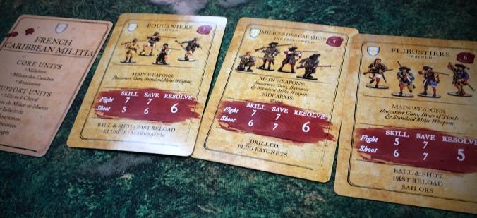 Battle Report: Campaign Game 1 – French Caribbean Militia vs