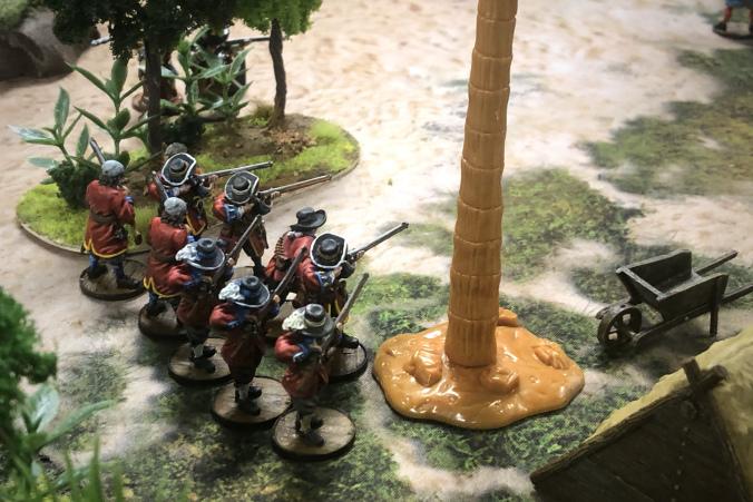 english militia