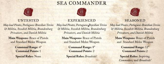 sea commanders
